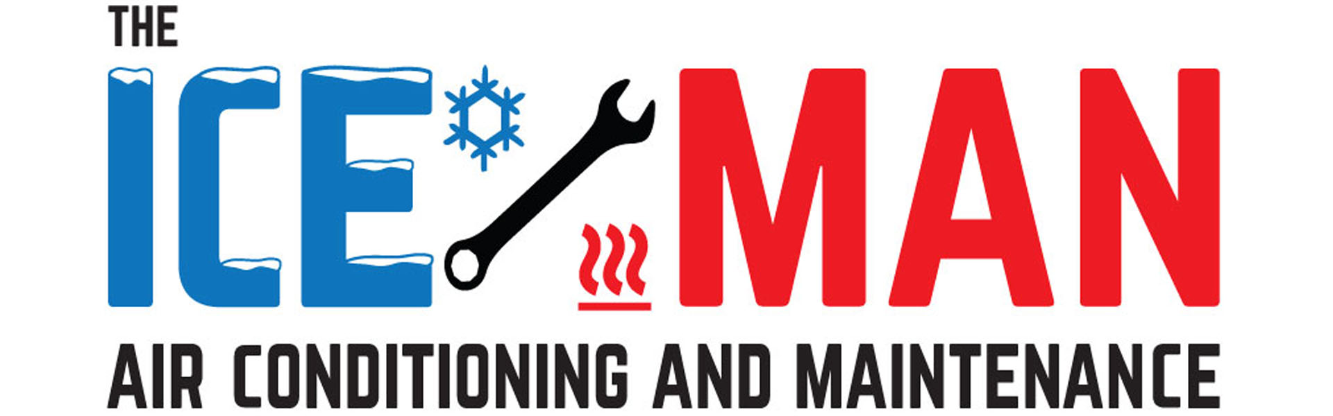 ice man air conditioning and maintenance logo